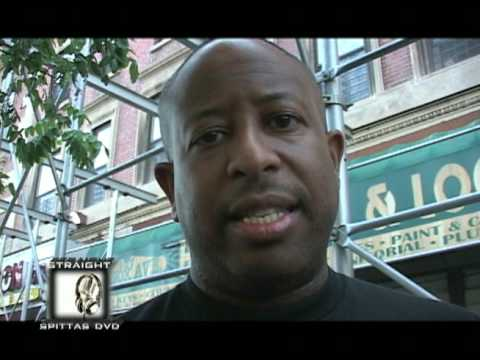 Big L Mural Painting in Harlem (feat. DJ Premier, Lord Finesse, Herb McGruff, ETC.)