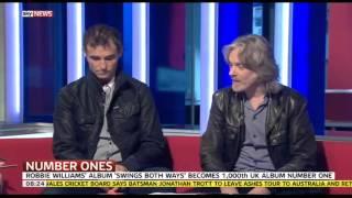 Marti and Graeme on Sky News Sunrise 25th November 2013