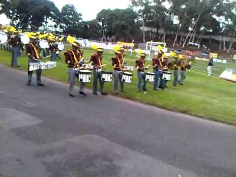 Coruña Marching Band, 1° Lugar En Concurso Nacional De Bandas 2012.