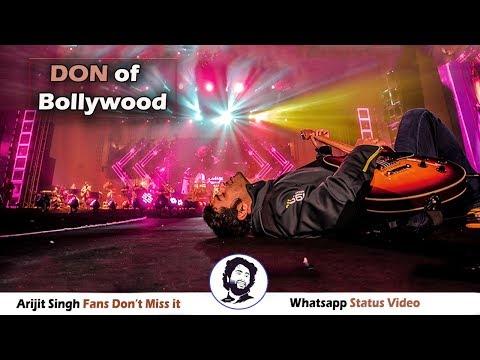 Arijit Singh - Don of Bollywood Music   Arijit Fan Don't Miss it