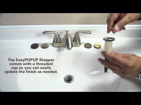 How to Replace Pop-Up Stopper with EasyPOUP Stopper by PF WaterWorks