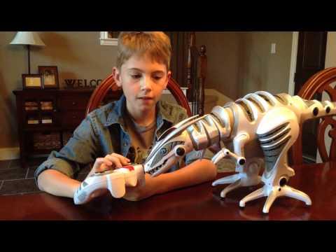 Robo Raptor demo/review