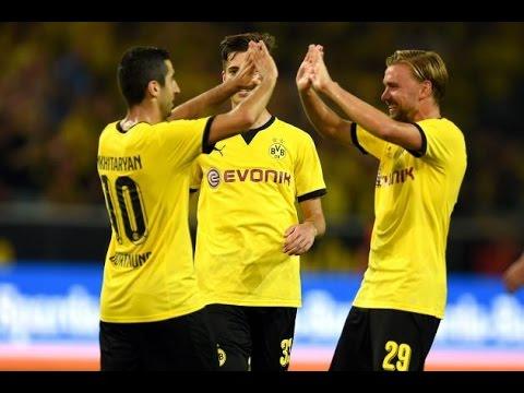 Borussia Dortmund Vs Wolfsberger: 5 - 0 ~ All Goals & Highlights  06/08/2015|HD
