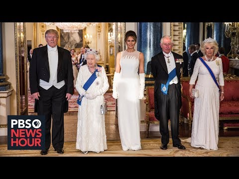 How Trump's UK state visit is breaking norms