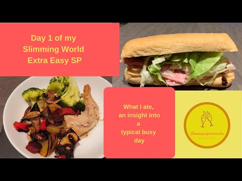 Day 1 On Slimming World Extra Easy SP