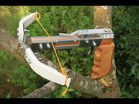 pistol crossbow with pvc limbs homemade version 2 youtube. Black Bedroom Furniture Sets. Home Design Ideas