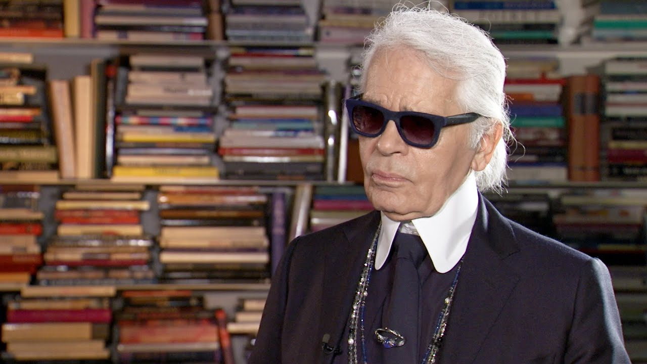 The Big Interview: Karl Lagerfeld