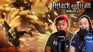 Attack On Titan Episodes 11-12 (Season 1): Eren ATTACKS Mikasa!!!!