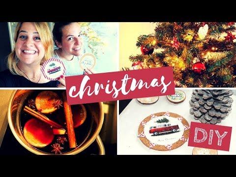 CHRISTMAS DIY + MULLED WINE FUN | SWITZERLAND
