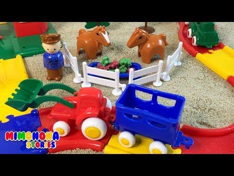 Granjita para niños 🐮🐴 Vacas Cerdos Caballos ✨ Videos Infantiles - Mimonona Stories