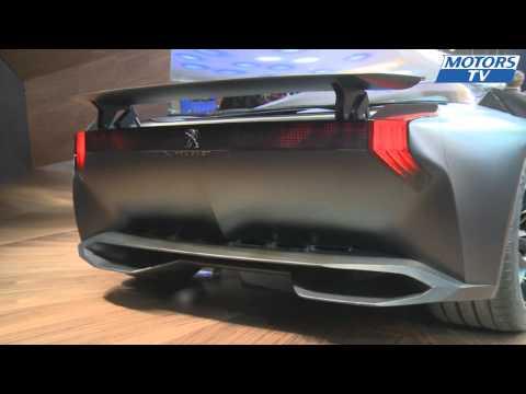Concept Car Peugeot Onyx   Paris Motorshow 2012