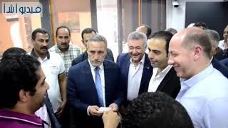 بالفيديو: محافظ الإسماعيلية يستقبل وفد أعضاء لجنة الشباب والرياضة بالبرلمان