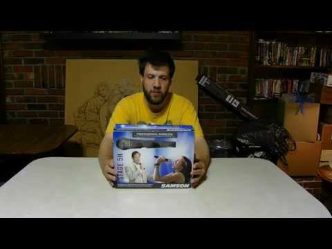 Unboxing Samson A Wireless Microphone