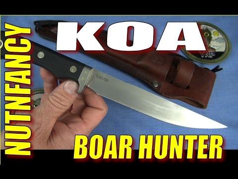 Knives Of Alaska Boar Hunter Knife: Man Enough?