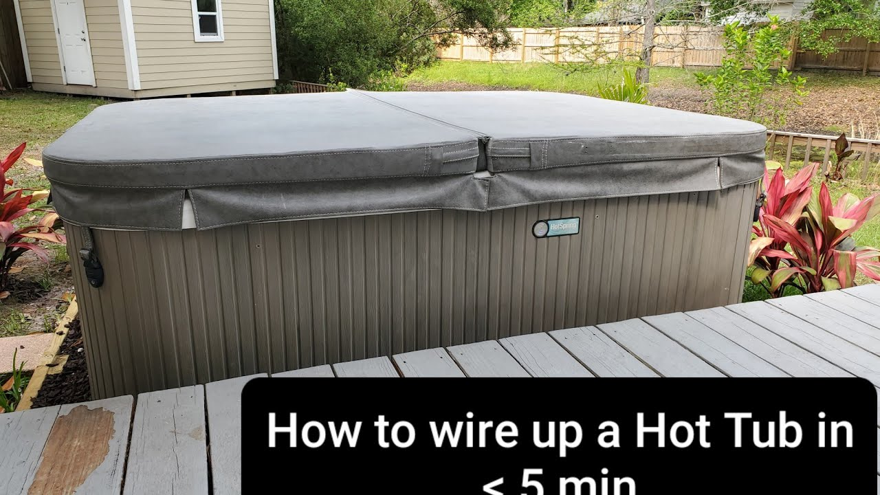 How To Wire Up A Hot Tub In 5 Minutes