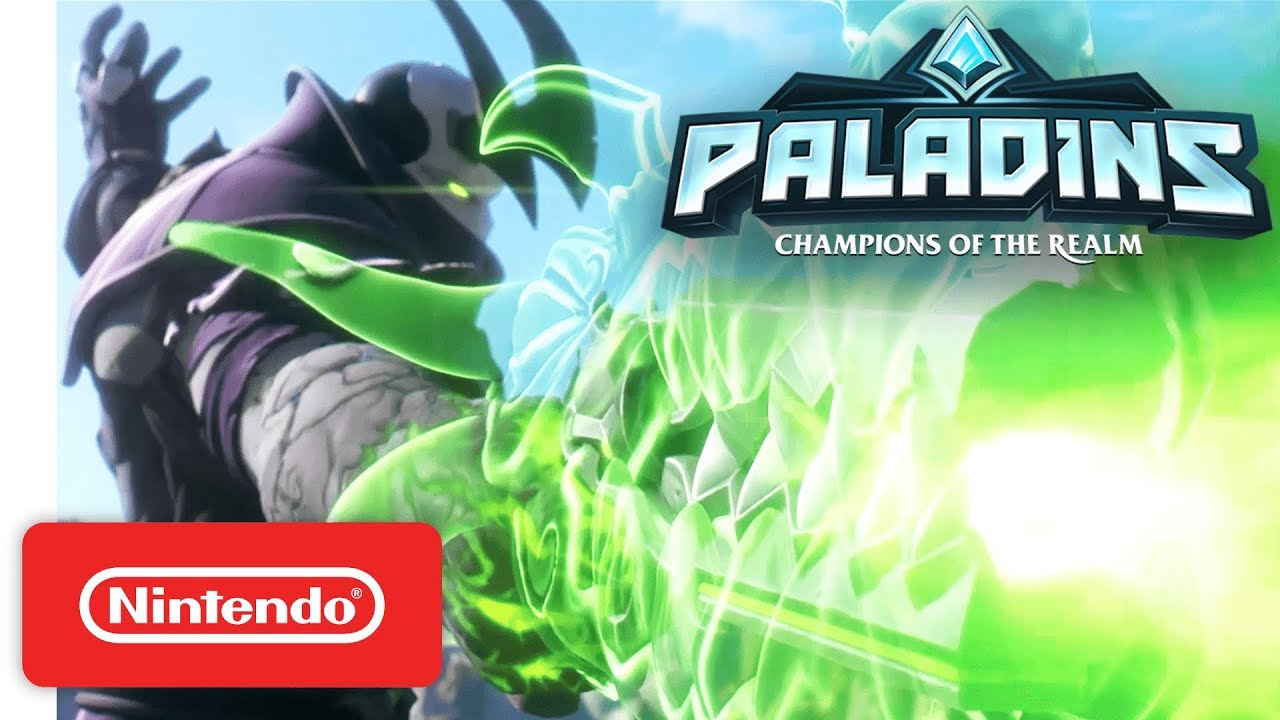New Paladins update adds cross-platform play to Switch