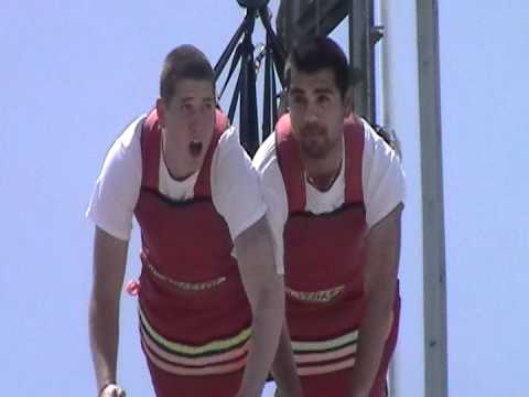 Fly the Skycoaster,  Funtown Amusement  Pier , Seaside NJ Hristiyan Hristov