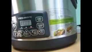 Мультварка-скороварка-коптильня объемом 8 литров VES Electric A80 обзор
