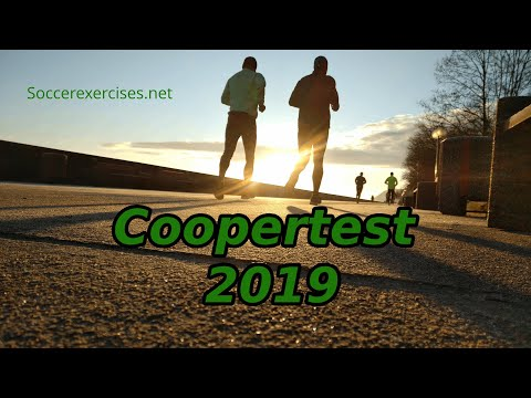 Coopertest (Full 12 minutes run) with free music Soccer Exercises #17