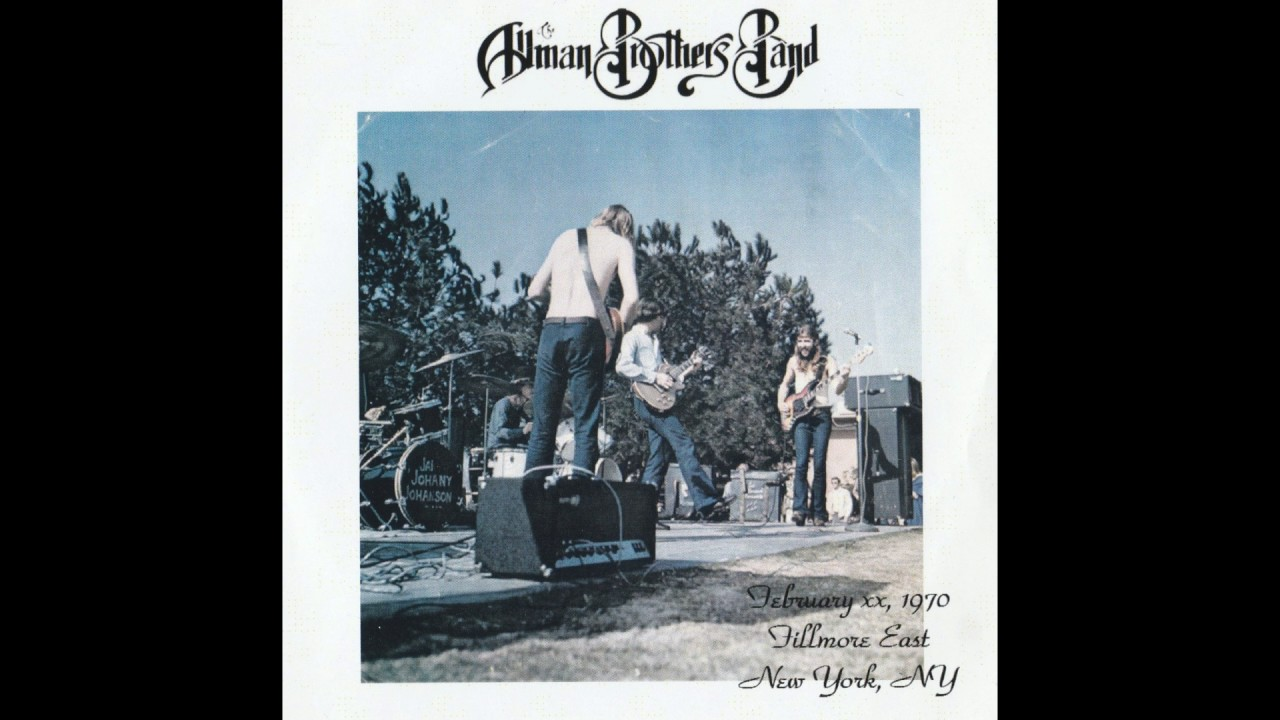 The 1971 Fillmore East Recordings by The Allman Brothers ...