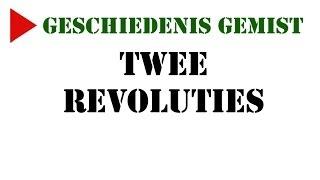 Geschiedenis Gemist - klas 3 h/v - Russische Revolutie (de twee revoluties)