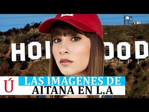 Aitana una estrella en Los Ángeles  tras triunfar con Lo Malo y brillar en Operación Tras Operación