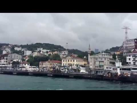 A Short Cruise over the Straits of Bosphorus, Istanbul