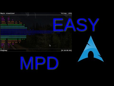 Easy MPD (Arch Linux)