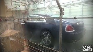 Visiting Rolls-Royce [Part 3] Monsoon Test, Coachline, Finished Cars