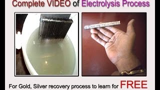 SILVER Recovery from FIXER SOLUTION