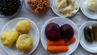 SIMPLE AND HEALTHY VINAIGRETTE SALAD  RECIPE BY LIANNA ARAKELYAN