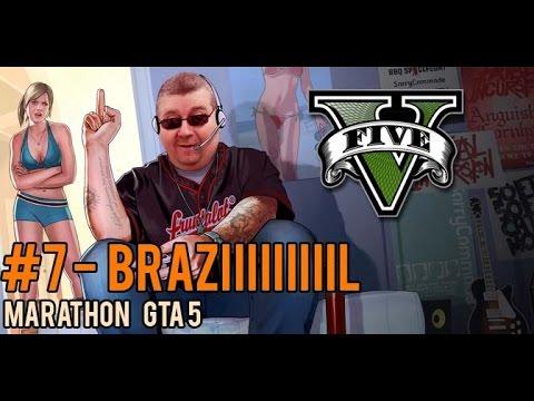 GTA 5 PC Online - #7 Rencontre Avec Brazil  - Marathon Boblegob - FR