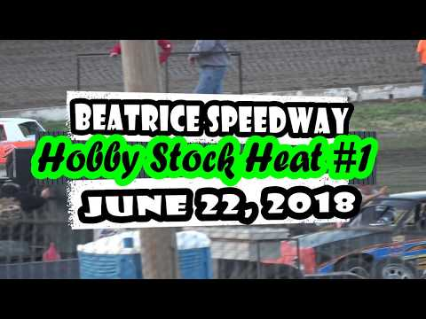 06/22/2018 Beatrice Speedway Hobby Stock Heat #1
