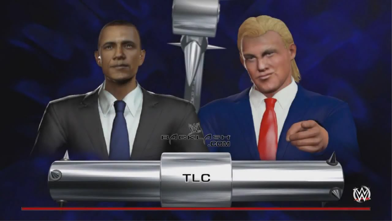Barack Obama vs. Donald Trump - Fight to the Death - WWE 2K16 ...