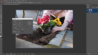 Photosense मे  इमेज को Resize करें