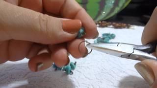 Браслет из натуральных камней своими руками, handmade(Всем привет! В этом видео я покажу как сделать милый браслет своими руками из натуральных камней., 2014-09-30T21:34:04.000Z)