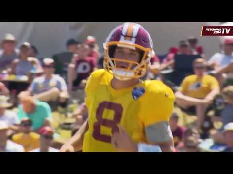 Redskins Training Camp Wired Up: Kirk Cousins