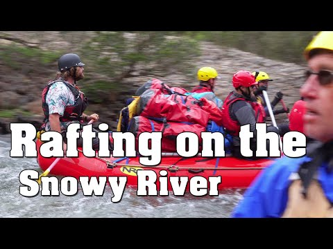 White Water Rafting On The Snowy River, NSW Australia