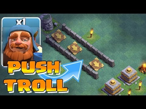 Thumbnail: PUSH to CRUSHER TROLL!!! | Clash of clans | MAXED UPGRADES!!