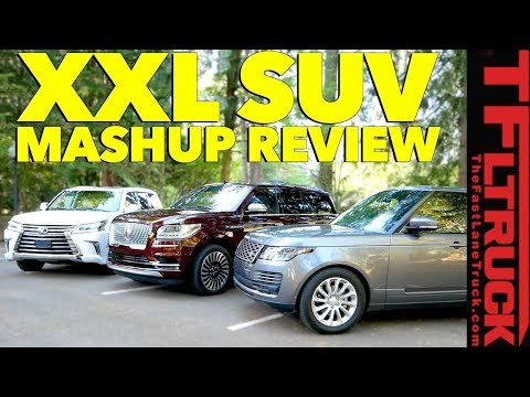New Lincoln Navigator vs Lexus LX vs Range Rover: Which XXL Luxury SUV is Best?