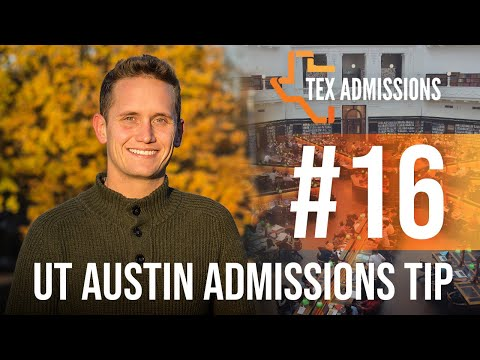 UTAustin Admissions Tip 16: All About Honors