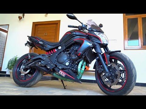 #SpecialFeature@Dinos: Zoe's Black Hawk (Kawasaki ER6n custom mod by Zohair Ahmed)
