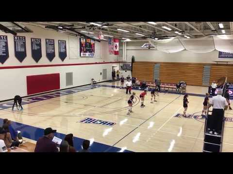 VB: Northland Pioneers vs Itasca Community College 9/15/18