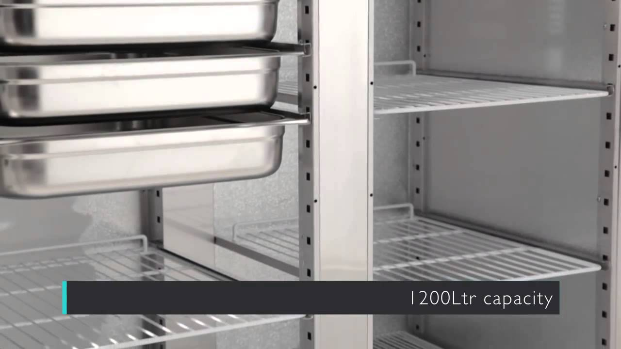 Kühlschrank Polar : Polar edelstahl lagerkühlschrank ltr gastro royal g youtube