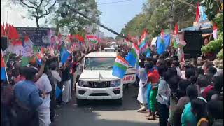 Citizens of Tamil Nadu flood the streets of Kanyakumari with love, respect for Shri Rahul Gandhi