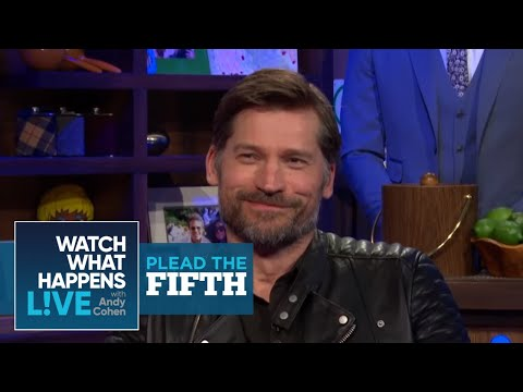 Nikolaj CosterWaldau Talks Game Of Thrones Costar's Junk  Plead the Fifth  WWHL