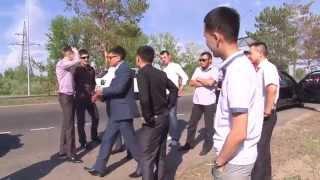 Свадьба в Павлодаре    дорога