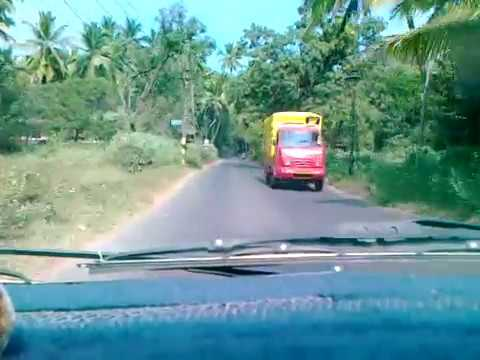 Roads in Goa: Cavelossim Ferry Point to Varca