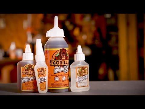 Clear Gorilla Glue