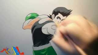 Snappy Drawing 46 Little Mac (Punch Out)